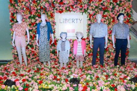 Liberty London for UNIQLO_Elle Fashion Week (1)