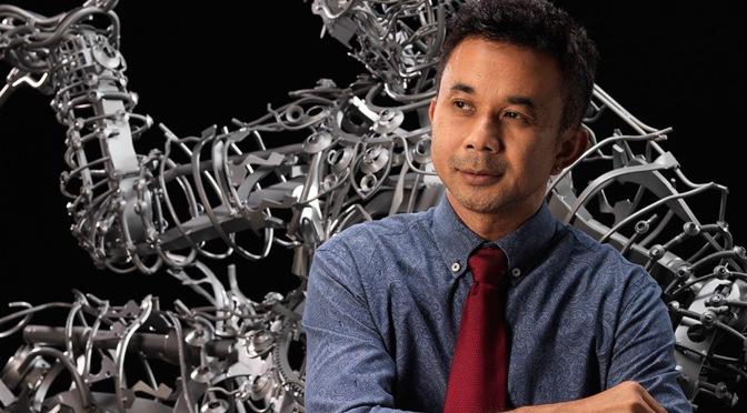 สิงห์ปาร์ค เชียงราย หนุน ศิลปินไทย 'บรรเจิด เหล็กคง'จัดแสดงผลงานประติมากรรมศิลปะไทย สู่ระดับโลก