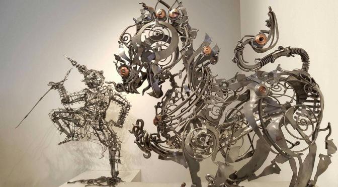 """สิงห์ปาร์ค เชียงราย สนับสนุนผลงาน  """"Metal art – เหล็กคง"""" ของศิลปินไทยไปนิวยอร์ค"""
